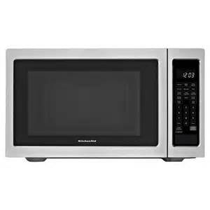 kitchenaid kcms1655bss 1 6 cuft countertop microwave 1200