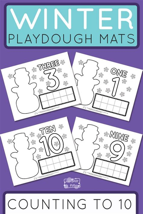 printable winter playdough mats 756 best winter activities images on pinterest class