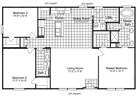 palm harbor mobile homes floor plans 1000 images about mobile home plans on pinterest home