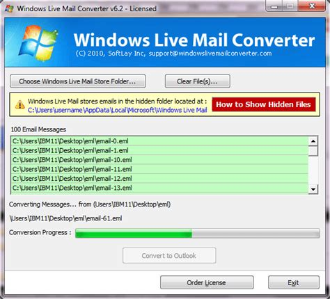 html format windows live mail how to export windows mail to outlook pst format