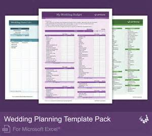 wedding planning spreadsheet template wedding planning template pack for excel