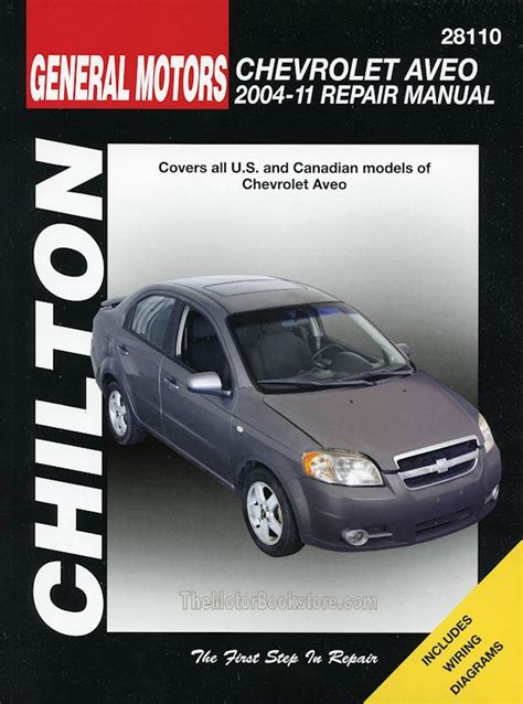 chevy aveo repair manual 2004 2011 by chilton