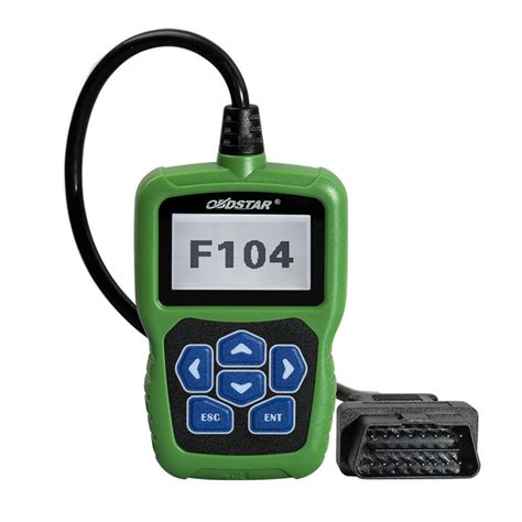 obdstar f104 review on chrysler key program via obd pin