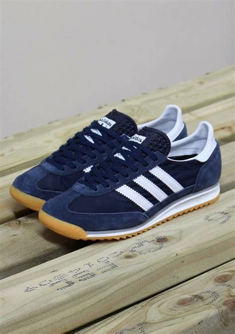 Is Adidas Signed With Mba by Adidas Originals Sl 72 Navy Sneakers Adidas Sl 72
