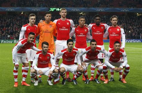 arsenal squad arsenal announce 2015 emirates cup line up al bawaba