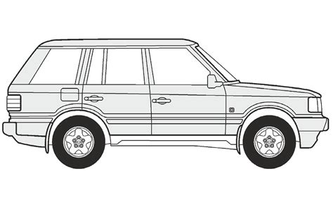 land rover drawing how to draw a range rover как нарисовать range rover