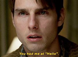 To Tom Cruise You Had Me At Insert Secret Scientology Greeting Here by Jerry Maguire Hashtag Images On Gramunion