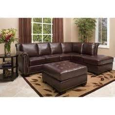nouveau top grain leather sectional costco nouveau leather sectional and ottoman wish list