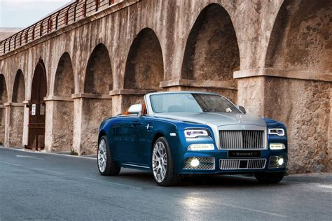 mansory rolls royce dawn mansory touches up the drop top rolls royce dawn