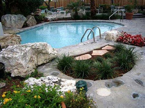 pool natural backyard decorating ideas small backyard decorating concrete pool designs for garden design with