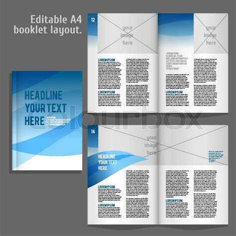 layout book recommendations a4 book geometric abstract layout design template with