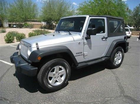 find used 2012 jeep wrangler sport 4wd 4x4 trail