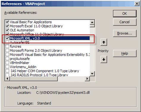 excel 2007 open xml format xml reader excel vba implementing oba using excel vba