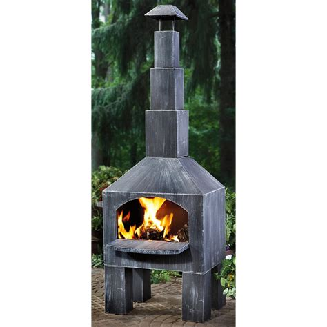 Chiminea Cooking by Guide Gear 174 Outdoor Cooking Chiminea 200362 Pits