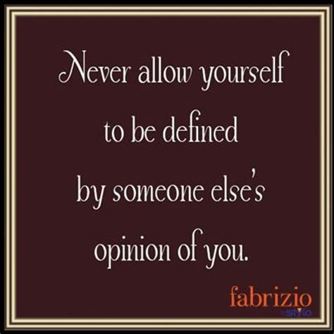your selves definition define yourself quotes