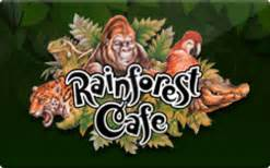 Rainforest Cafe Gift Card - buy rainforest cafe gift cards raise
