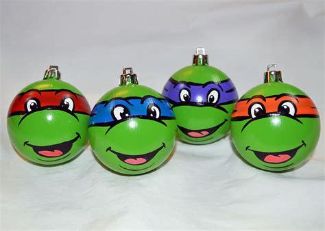 all balls ninja turtles ornament set teenage mutant