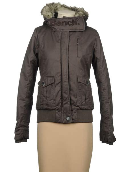 bench denim jacket bench jacket in brown lyst