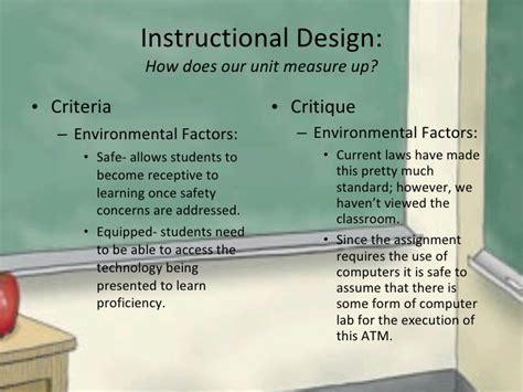 instructional design criteria checklist final atm pp