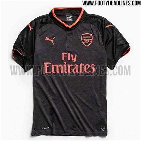 New Jersey Arsenal Away 20172018 all 3 new arsenal jerseys been unveiled ahead of the