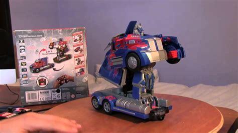 Rc Transformer new remote autobot optimus prime rc transformer