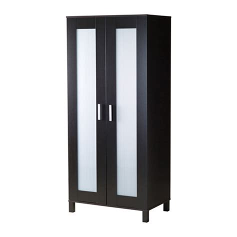 ikea wardrobe uk austmarka wardrobe black brown 81x180 cm ikea