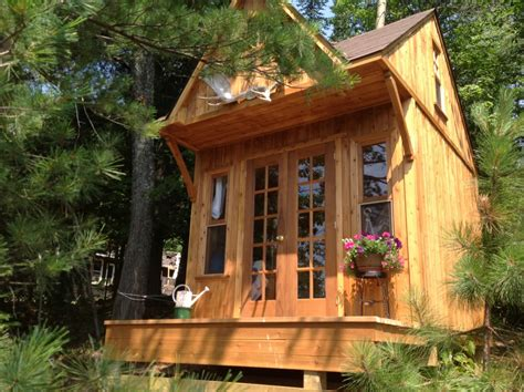 Small Cabin Building Plans by Best Seller Permit Free Cottage Bunkie Summerstyle