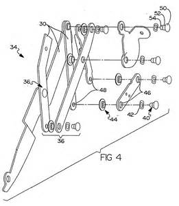 patent ep1576300b1 less rivet system for a reclining