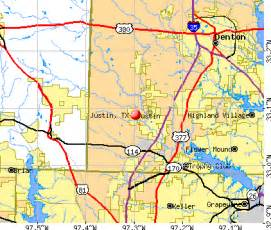 justin map justin tx 76247 profile population maps real