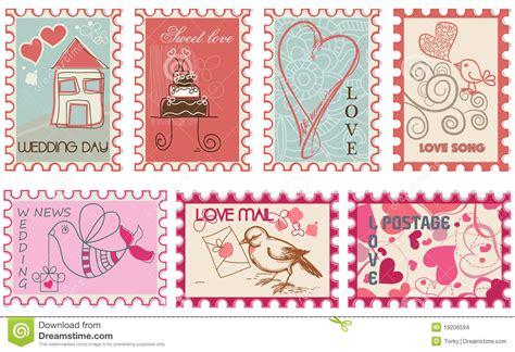 imagenes vintage de sellos sellos del amor imagenes de archivo imagen 19206594