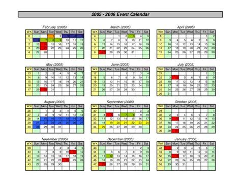 group calendar maker excel