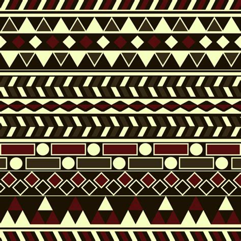 tribal pattern vector free download tribal pattern seamless borders vector 01 vector frames