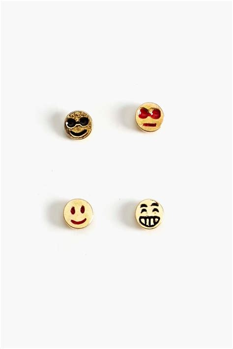 Emoji Earrings | 120 best images about emoji earrings on pinterest