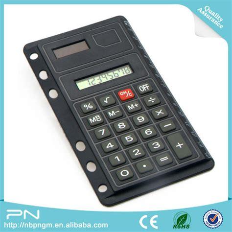 Kenko Pocket Note Pn 404 binder calculator with ruler solar calculator
