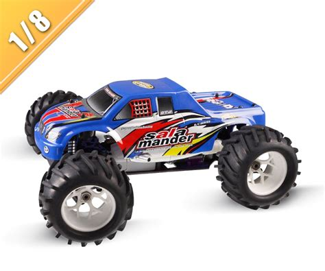 nitro monster truck 4wd 1 8 scale 4wd nitro gas powered monster truck tpgt 0823