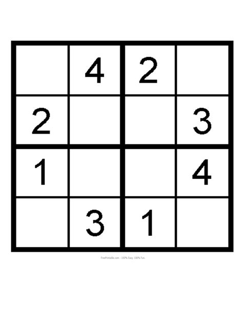 printable sudoku for preschoolers kids sudoku printable search results calendar 2015
