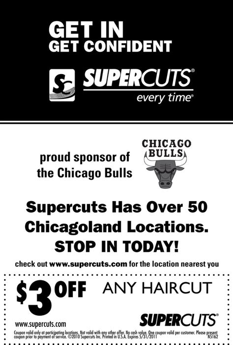 Supercuts coupon | THE OFFICIAL SITE OF THE CHICAGO BULLS