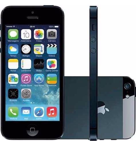 5 iphone 64gb iphone 5 64gb preto seminovo desbloqueado nf frete gr 225 tis r 1 499 99 em mercado livre