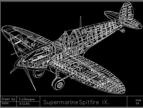 single seat fighter aircraft supermarine spitfire ix