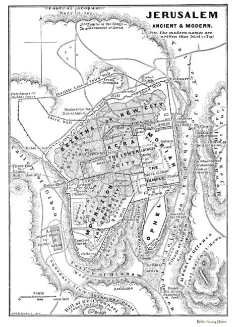Ancient Israel Maps