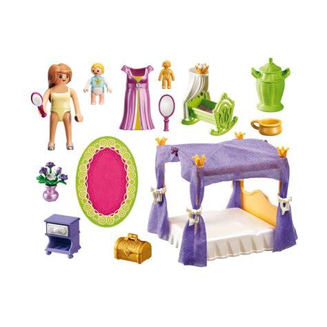 chambre de bébé playmobil chambre de la reine avec lit 224 baldaquin playmobil