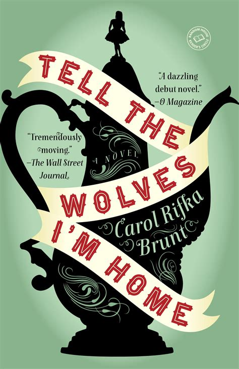 reader s guide tell the wolves i m home by carol rifka