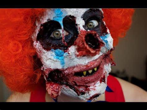 zombie clown tutorial zombie clown makeup tutorial youtube