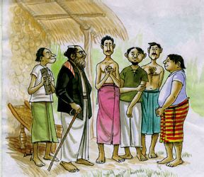 folk tales of sri lanka mahadenamutta and his pupils