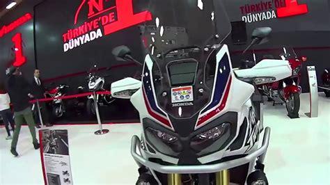 eurasia moto bike expo motosiklet fuari honda standi