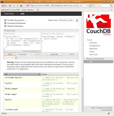 couchdb design document editor japh r by chris strom deliberate couchdb views