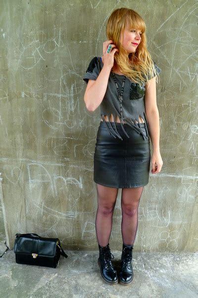 image gallery leather skirt ebay