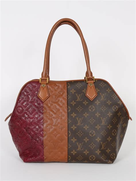 louis vuitton marine monogram blocks limited bag