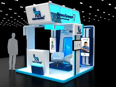 booth design app novo nordisk booth on behance