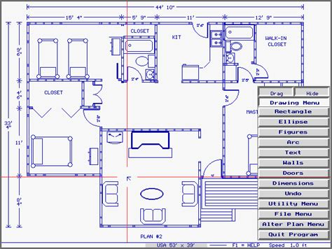 houe plans home plan cad shareware